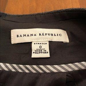 Banana Republic Skirts - Banana Republic Plaid Stretch Pencil Skirt
